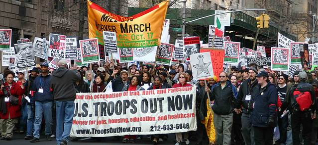 Troops Out Now Coalition - March 18
